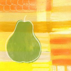 Green Pear- Art By - Fine Art