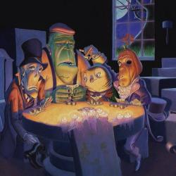 Poker Buddies - Fine Art