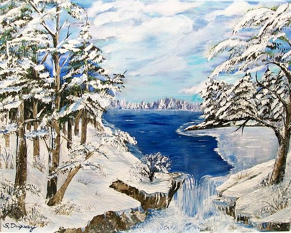Sharon Duguay -  Blanket of Ice