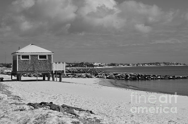 Cape Cod Massachusetts Photograph -  Cape Cod Winter Morning by Catherine Reusch  Daley