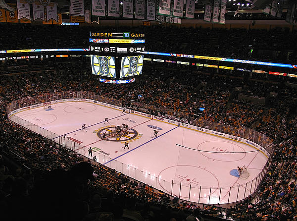 Boston Bruins Photograph  - Boston Bruins Fine Art Print