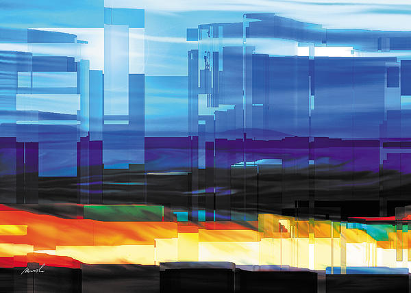 City Within Painting  - City Within Fine Art Print