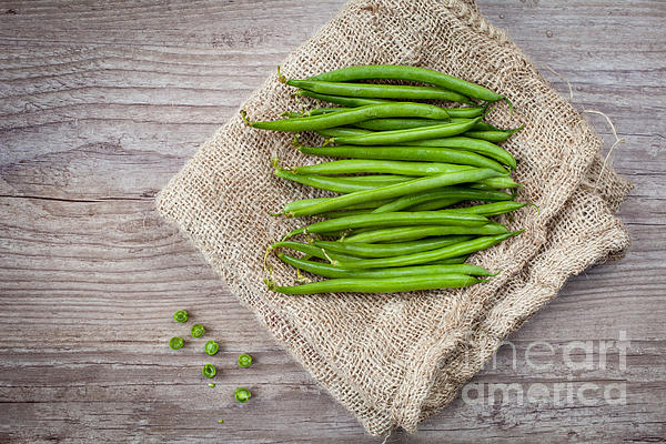 Agriculture Photograph - Green Beans by Sabino Parente