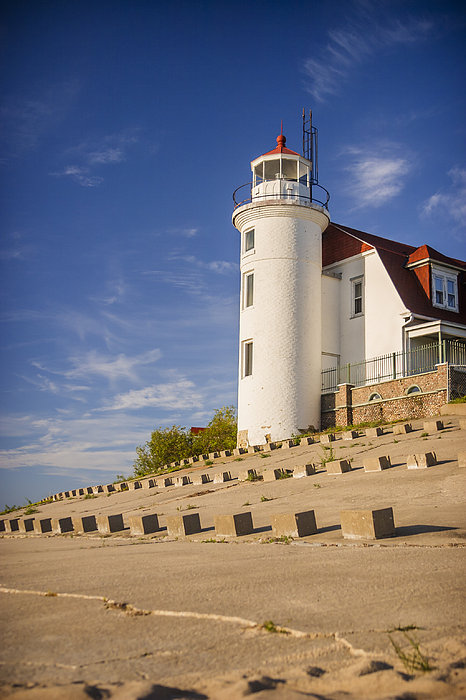 Point Betsie Lighthouse Michigan Photograph
