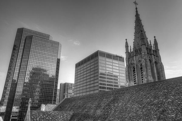 Cathedral Photograph - The Cathedral Of St. John The Evangelist by William Ragan