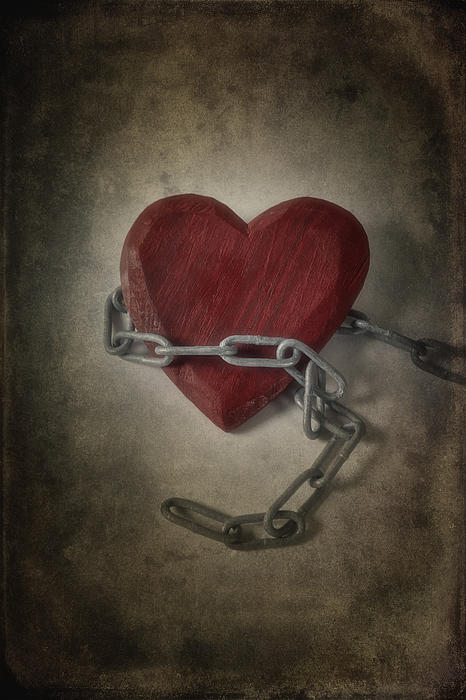 Heart Photograph - Unchain My Heart by Joana Kruse
