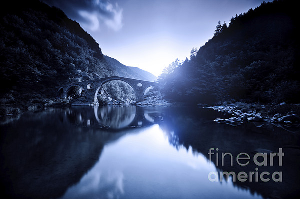Dyavolski Most Arch Bridge Photograph  - Dyavolski Most Arch Bridge Fine Art Print