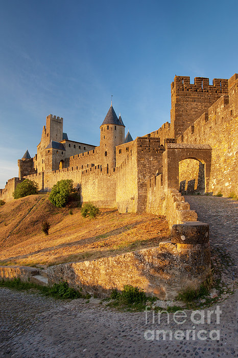 Architecture Photograph - Medieval Carcassonne by Brian Jannsen