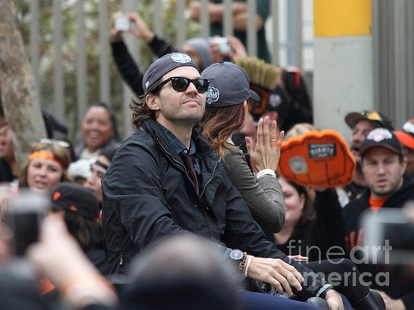 Sport Photograph - 2012 San Francisco Giants World Series Champions Parade - Barry Zito - Img8206 by Wingsdomain Art and Photography
