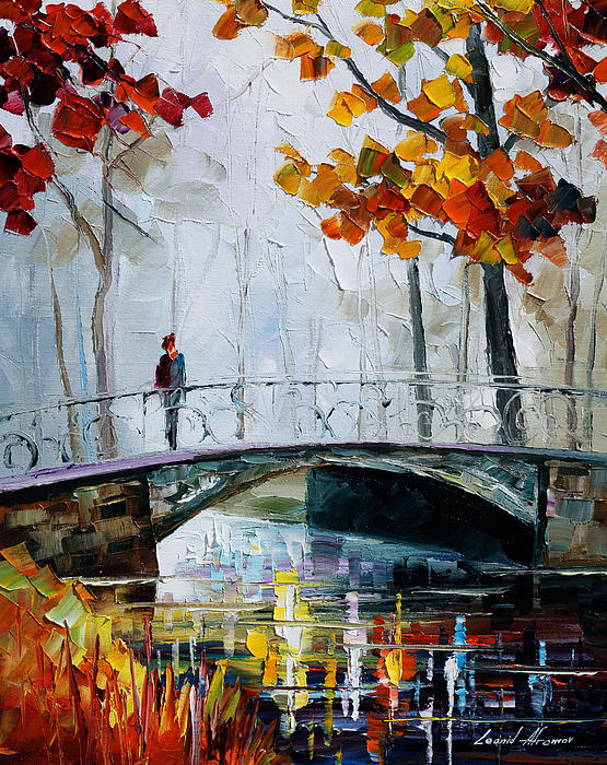Leonid Afremov - Little Bridge