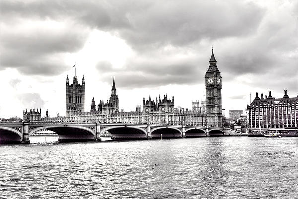 Police Photograph - London Town by Fizzy Image