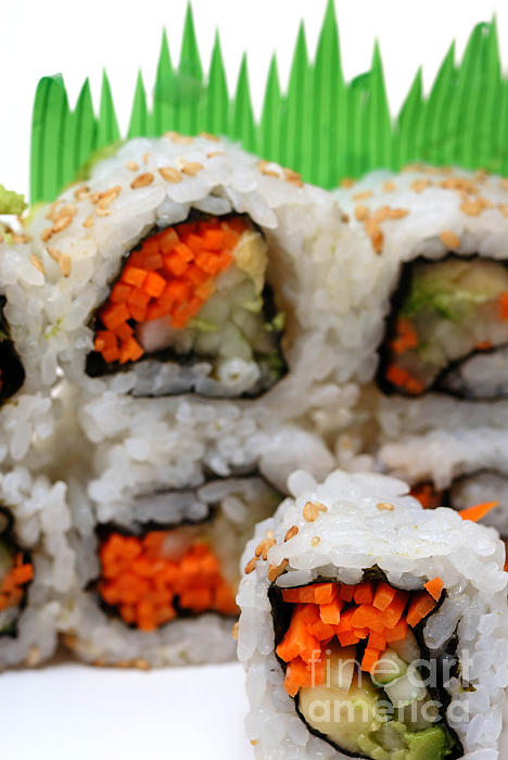 Vegetable Sushi is a photograph by Amy Cicconi which was uploaded on ...