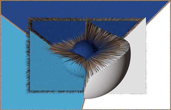 3d Abstract 19 Digital Art by Angelina Vick