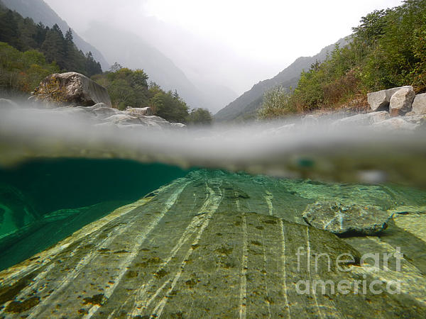 Under The Water Photograph - River by Mats Silvan