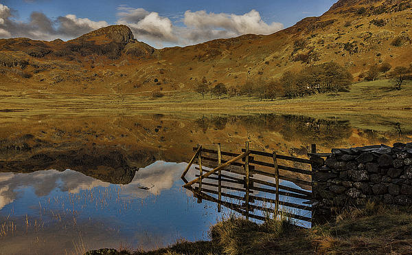 Blea Tarn Photograph - Blea Tarn by Trevor Kersley