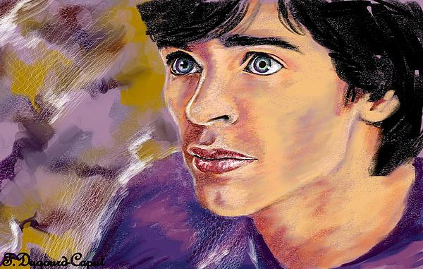 Digital Painting Painting - Tom by Francoise Dugourd-Caput