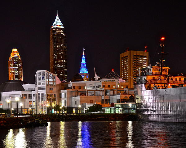 Cleveland Ohio Print by Frozen in Time Fine Art Photography