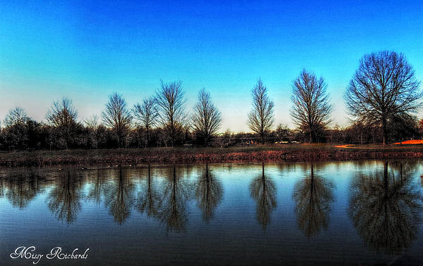 Photograph - A Good Day To Reflect by Missy Richards