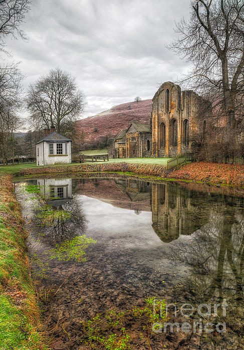 13th Century Photograph - Abbey Reflection by Adrian Evans