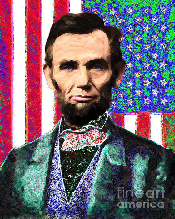Civil War Photograph - Abraham Lincoln 20130115 by Wingsdomain Art and Photography