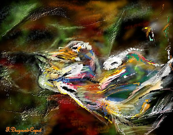Abstract Painting - Abstract 2 by Francoise Dugourd-Caput