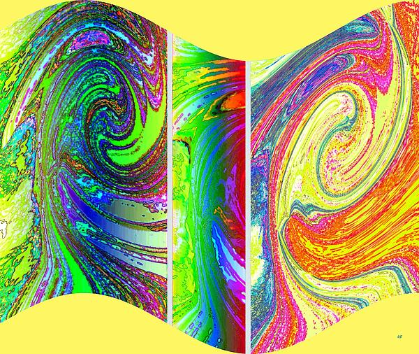 Abstract Fusion Digital Art - Abstract Fusion 188 by Will Borden
