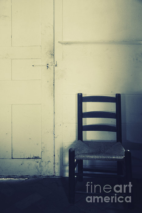Chair Photograph - Alone In A Room by Margie Hurwich