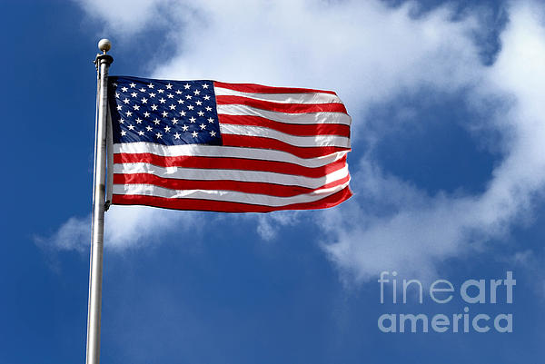 America Photograph - American Flag by Amy Cicconi