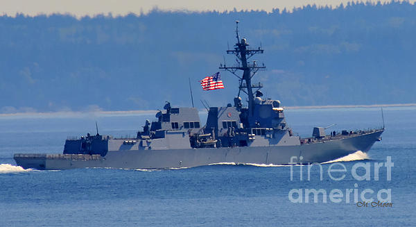 Tap On Photo - American Flag Ship