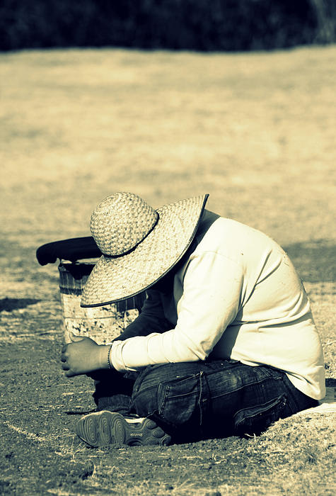 Mexico Photograph - And So Beats The Heart Of A Child Of The Sun by Ramon Fernandez