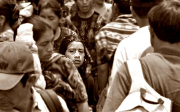 Guatemala Photograph - Are They All So Blind To The Truth by Ramon Fernandez