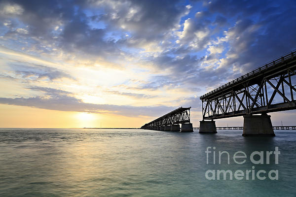 Bahia Honda Photograph - Bahia Honda Old Bridge by Eyzen Medina