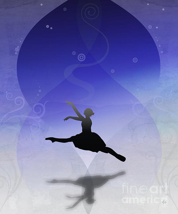 Ballet Digital Art - Ballet In Solitude  by Bedros Awak