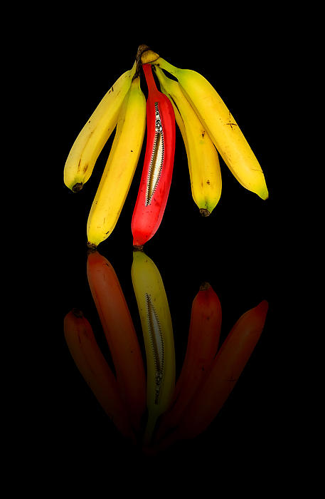 Abstract Photograph - Bananas by Svetlana Sewell
