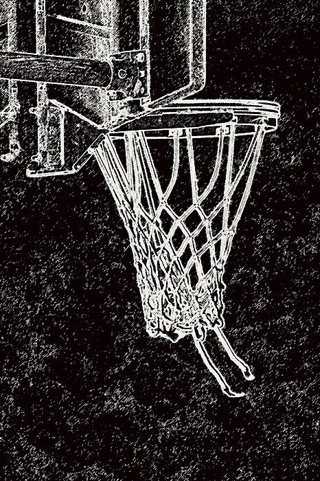 Sports Photograph - Basketball Years by Karol Livote