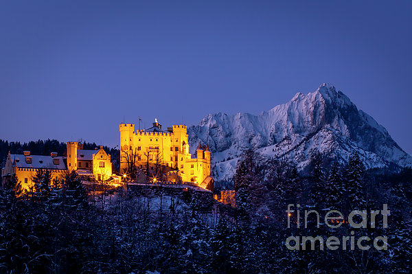Bavarian Castle Photograph  - Bavarian Castle Fine Art Print