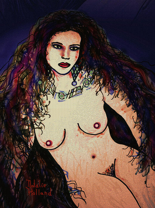 Nudes Mixed Media - Beautiful by Natalie Holland