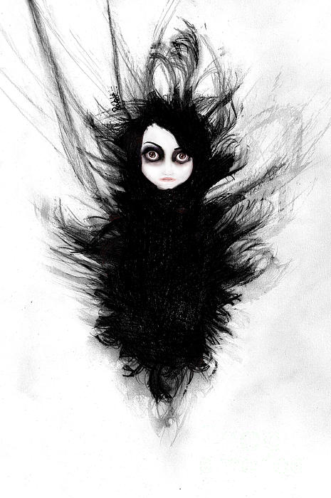 Becoming You. Im Not Afraid Anymore Mixed Media  - Becoming You. Im Not Afraid Anymore Fine Art Print