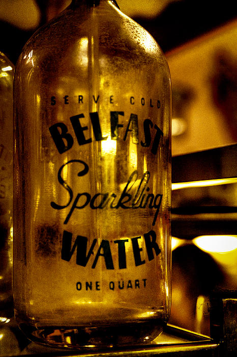Water Bottle Photograph - Belfast Sparkling Water by David Patterson