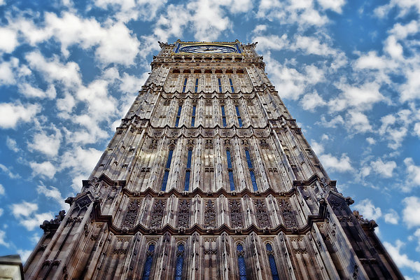 Joan Carroll - Big Ben Perspective