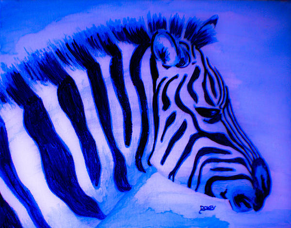 Scott Dokey - Blue Zebra