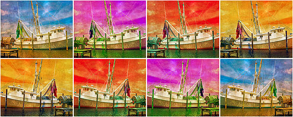 Boat Digital Art - Boat Of A Different Color by Betsy Knapp