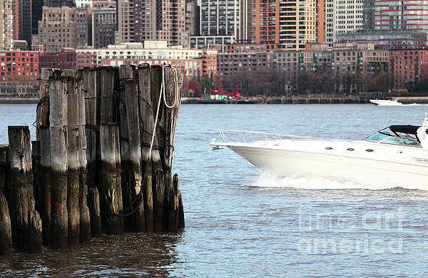 Boating In The Harbor Photograph  - Boating In The Harbor Fine Art Print