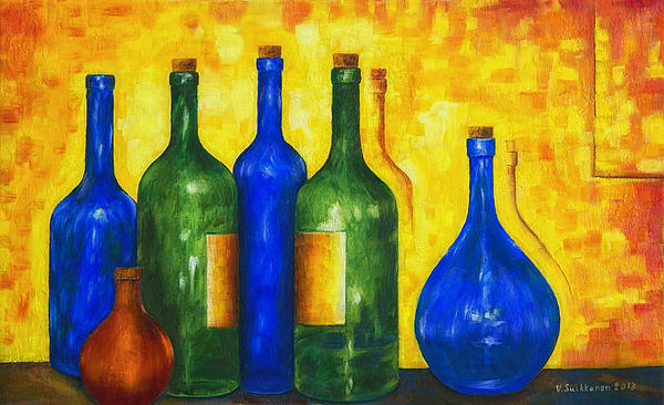 Bottless Painting  - Bottless Fine Art Print
