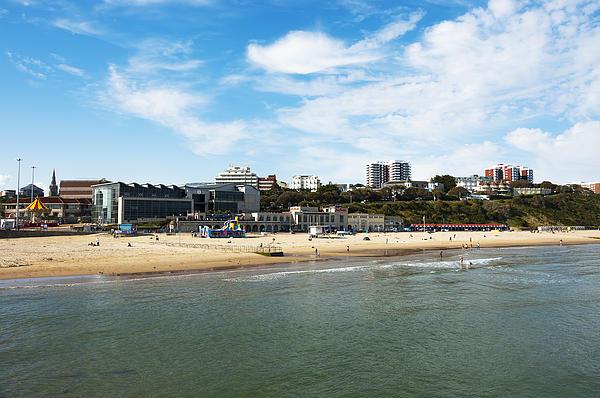 Activity Photograph - Bournemouth Bay by Svetlana Sewell