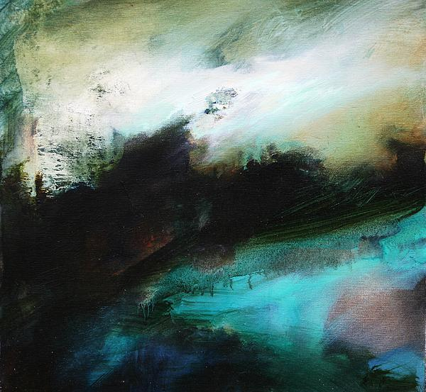 Tumultuous Painting - Breathing Space by Lissa Bockrath