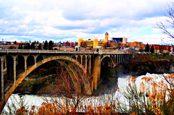 Ana Lusi - Bridge at Spokane Falls