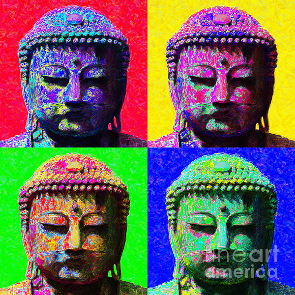 Religion Photograph - Buddha Four 20130130 by Wingsdomain Art and Photography