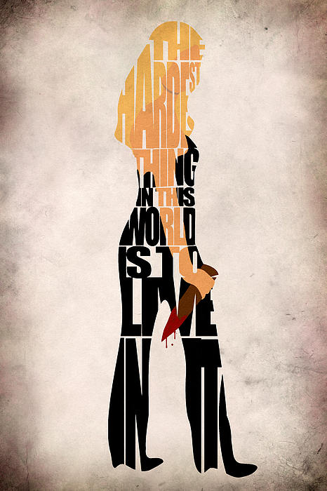 Buffy The Vampire Slayer Digital Art  - Buffy The Vampire Slayer Fine Art Print