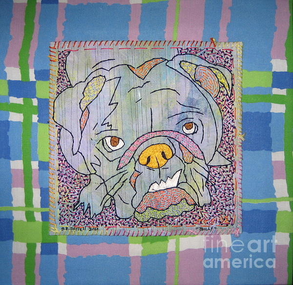 Textile Tapestry - Textile - Bully by Susan Sorrell